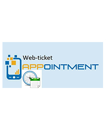 Web-Ticket Appointment